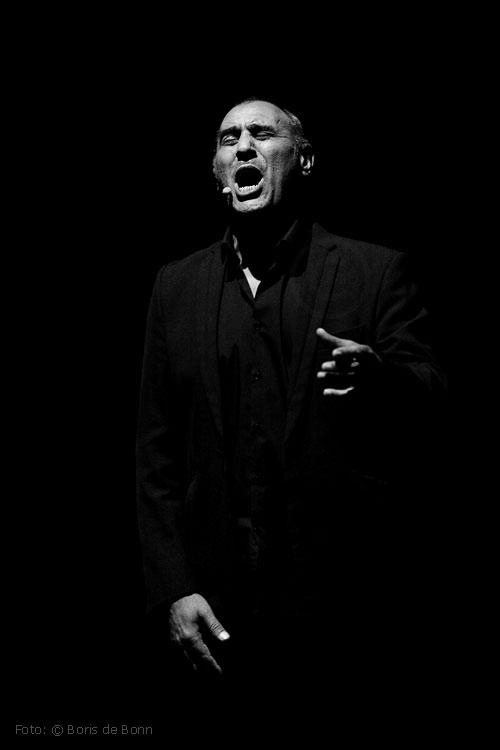 Cantaor Pepe de Pura / © Boris de Bonn