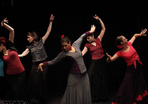 Flamencotanz Soleá por Bulería