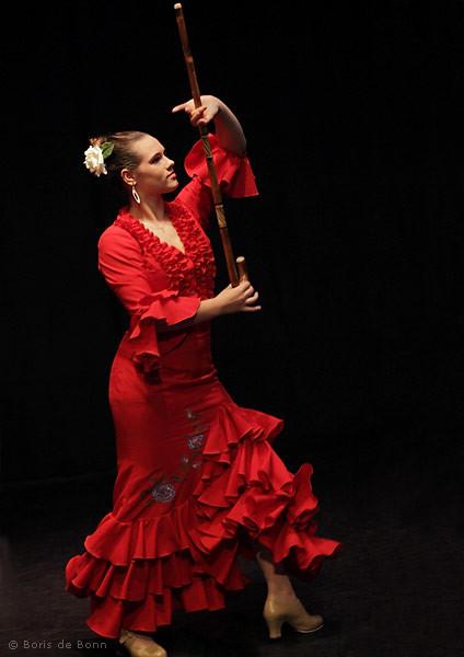 Flamencotanz Soleá por Bulería mit Bastón
