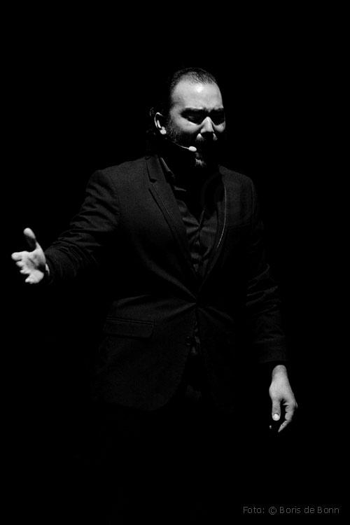 Cantaor Antonio Villar / SW-Foto by Boris de Bonn