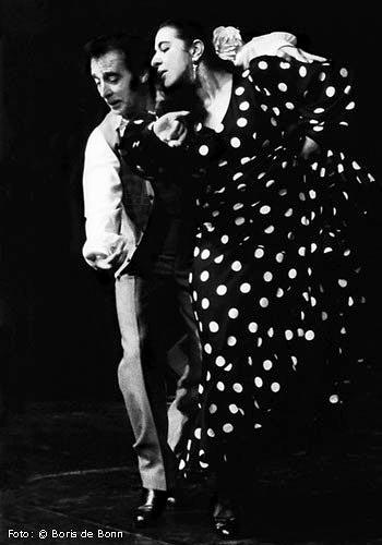 Flamenco-Tänzerin Rosa Martínez & Tänzer Tomás de Madrid / SW-Foto by Boris de Bonn