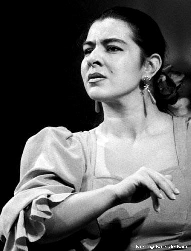 Flamenco-Tänzerin Rosa Martínez / SW-Foto by Boris de Bonn