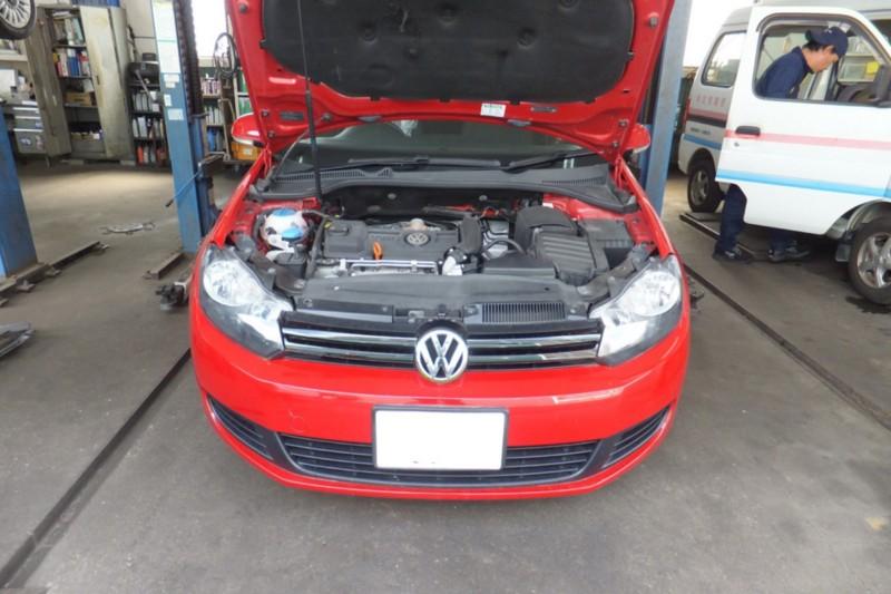 VWゴルフヴァリアント 警告灯チェック[福岡]