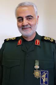 CC-BY 4.0 File:Qasem Soleimani with Zolfaghar Order.jpg