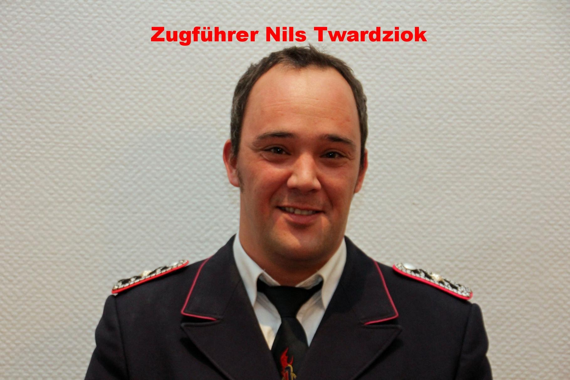 stell. Gruppenführer Nils Twardziok