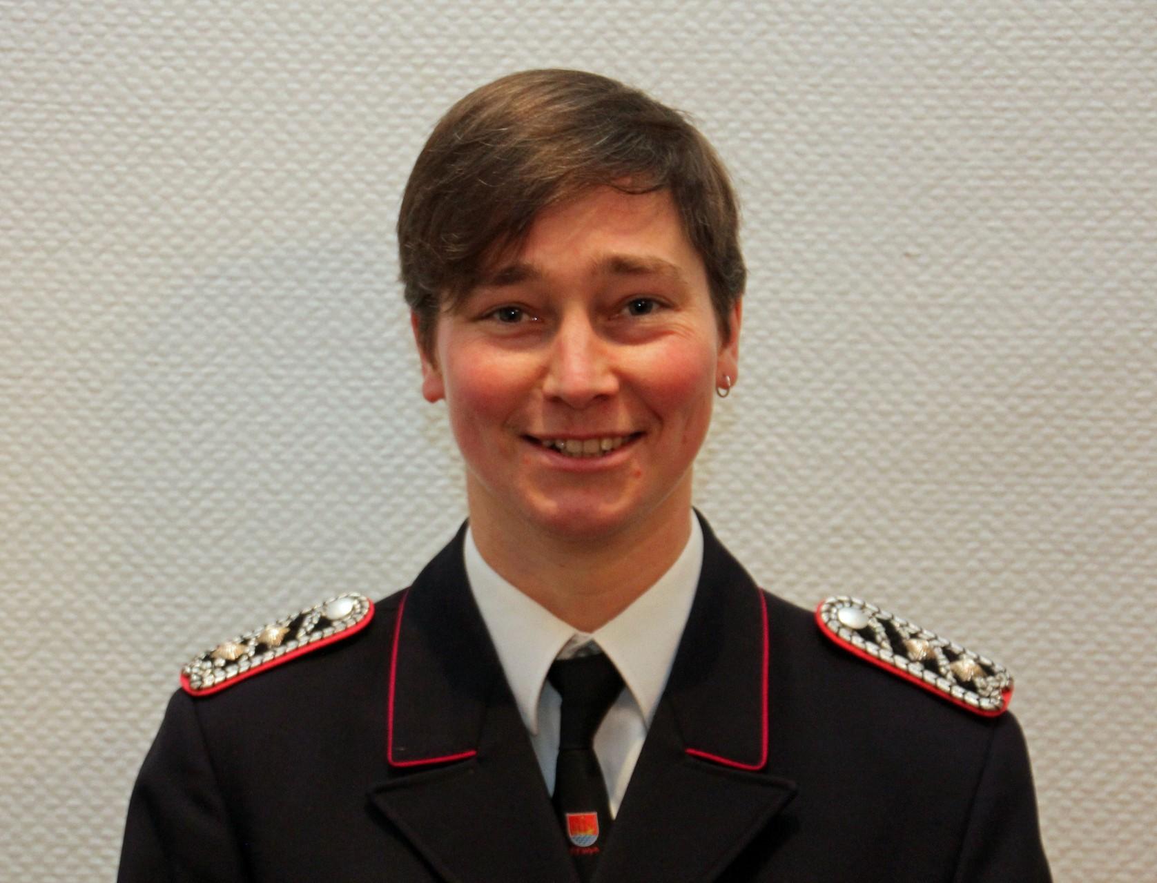 Gerätewartin Sabine Jensen (Grisu)