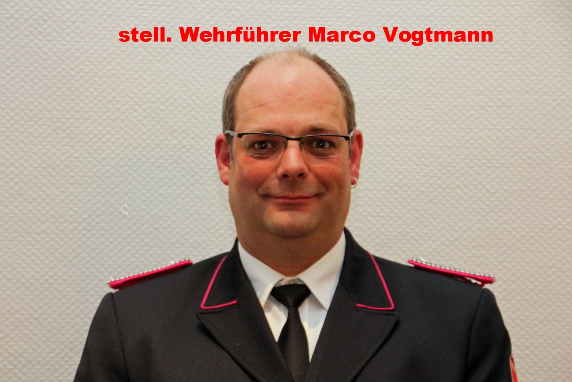 Zugführer Marco Vogtmann