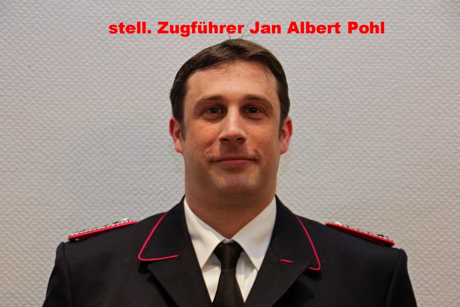 stell. Gruppenführer Jan Albert Pohl