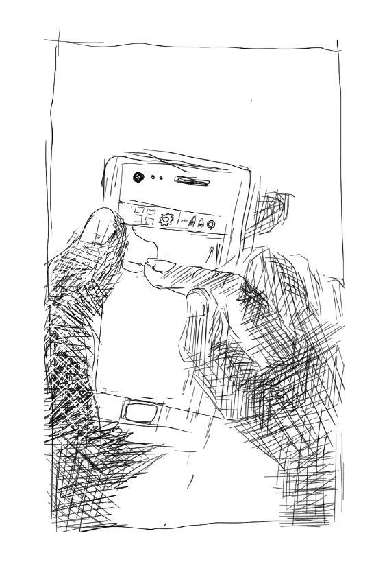 Zeichnung Pause - Loibl