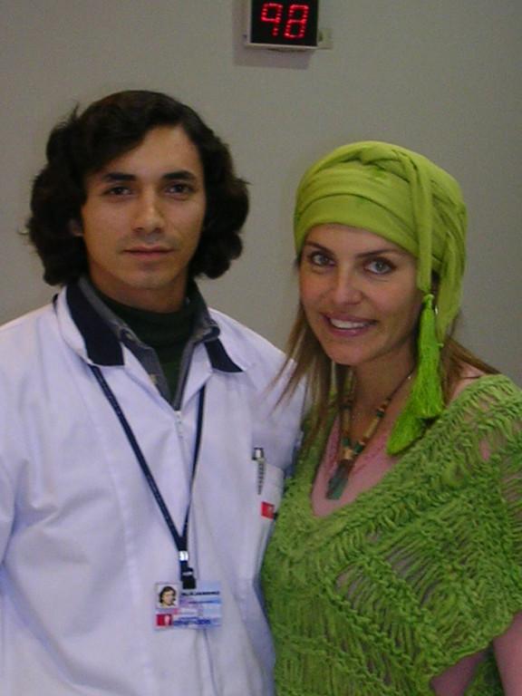 y aqui Andrea Molina conmigo