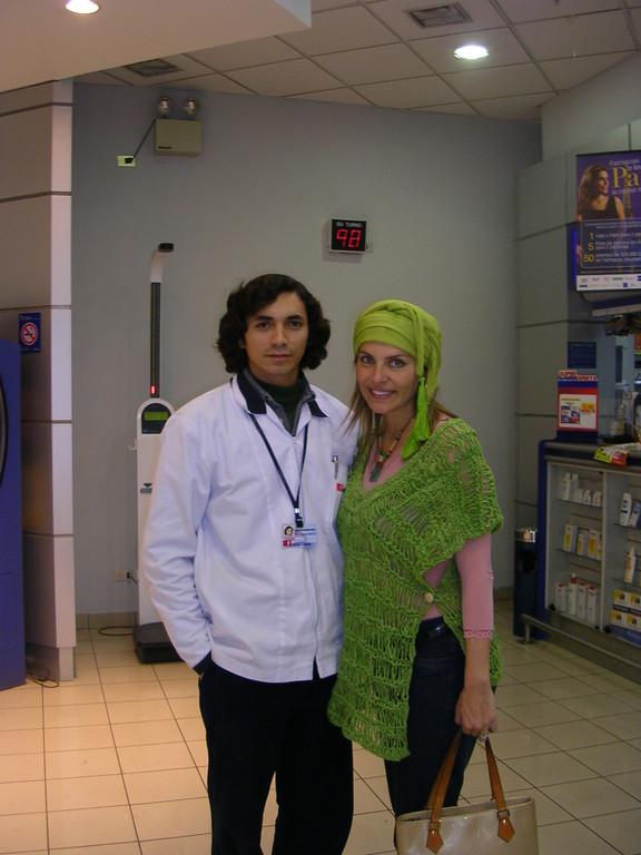 y aqui con Andrea Molina