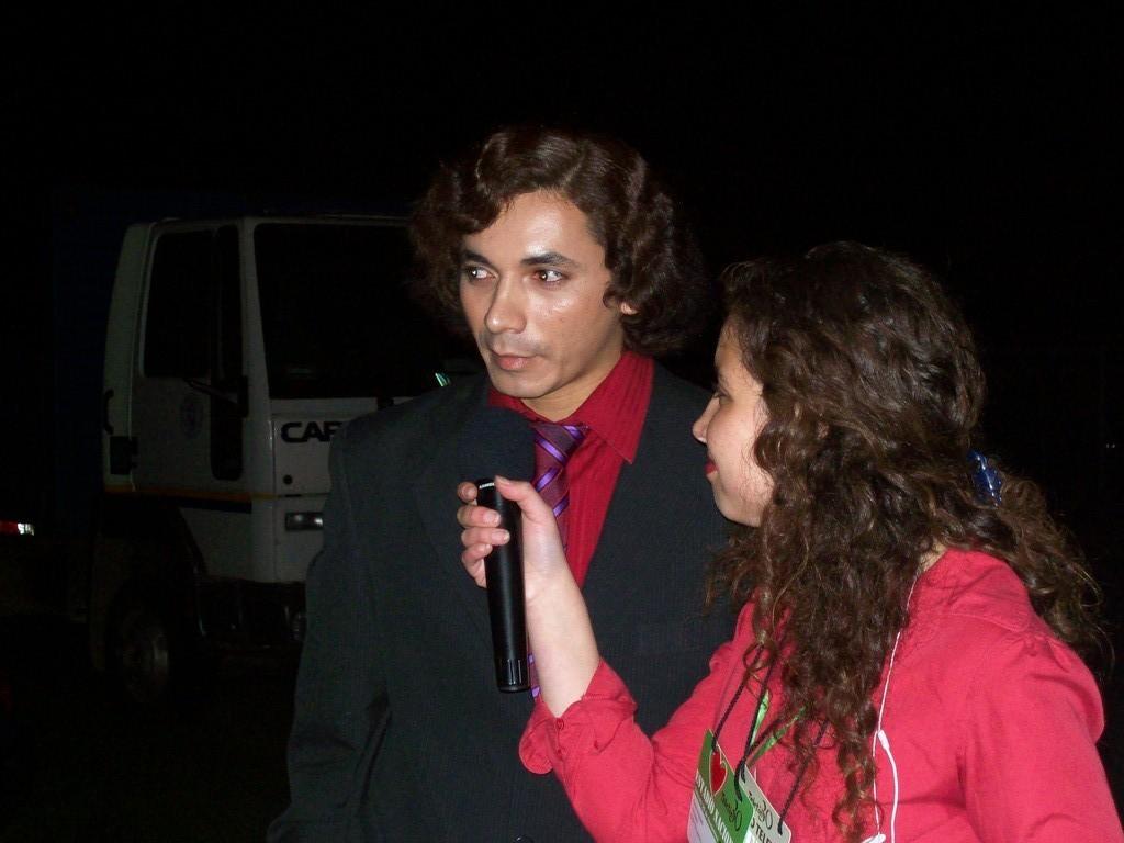 Entrevista de la radio local de copequen inaugurando la teleton 2008