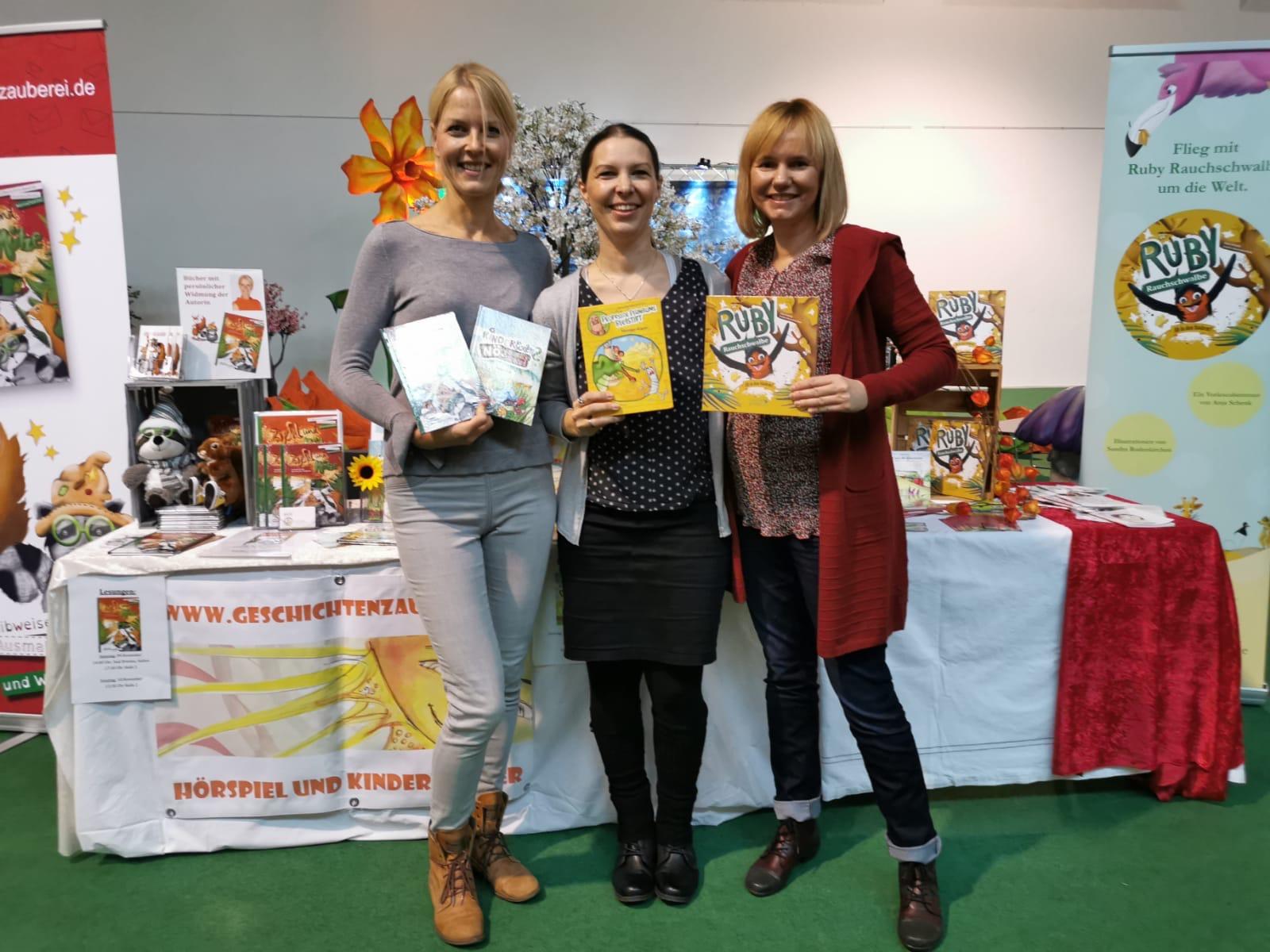 Mit Nina Hundertschnee und Anja Schenk