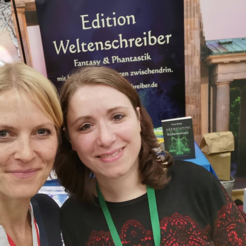 Mit Lana vom Verlag Weltenschreiber