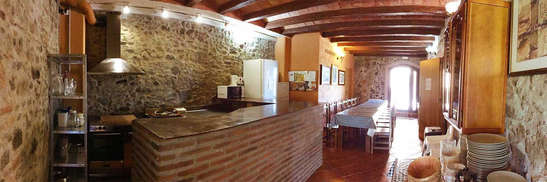 La Casa de Piedra (18p.) - MAS CAPUTXA Rural home para reuniones ...