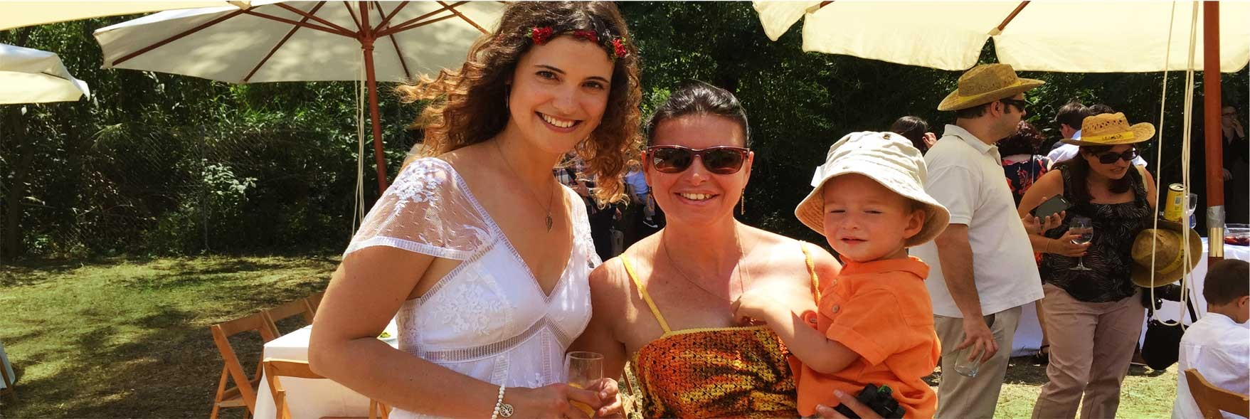 Lorena, Eva y Pedro