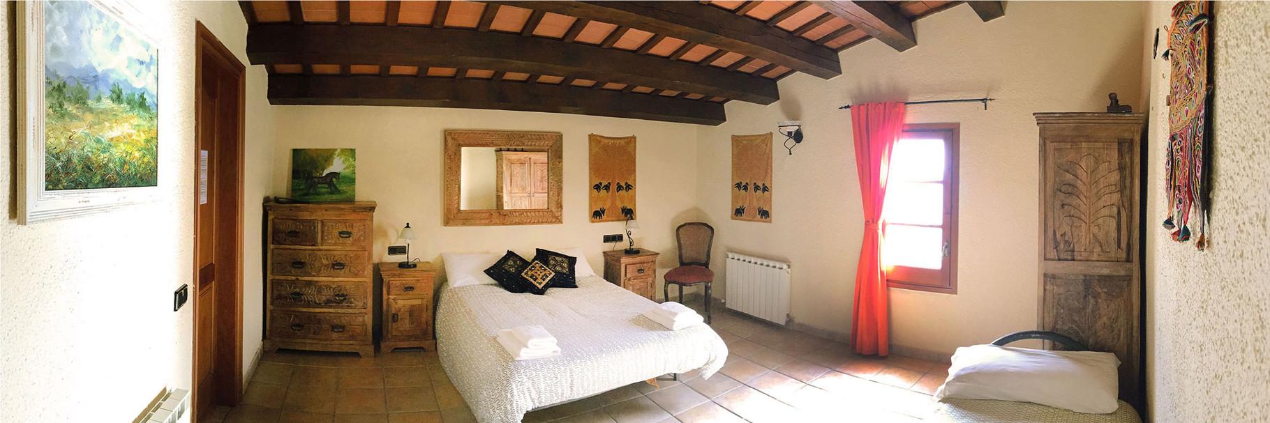 Amplia habitación tipo suite