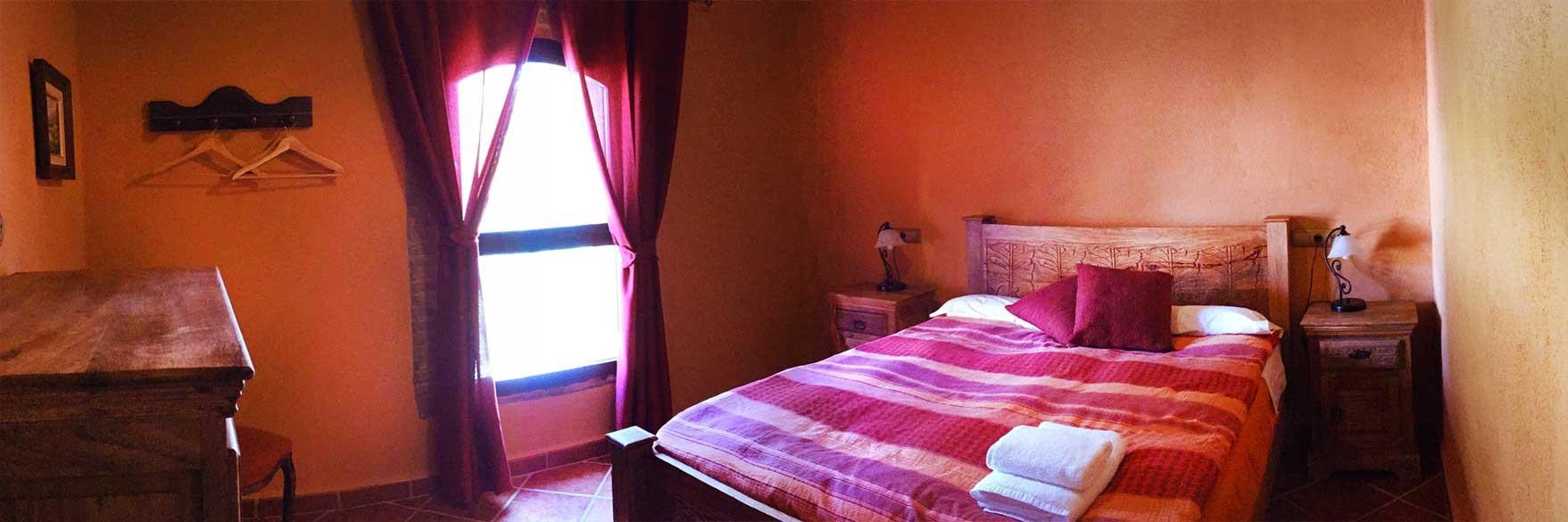 El Pi, con cama de matrimonio