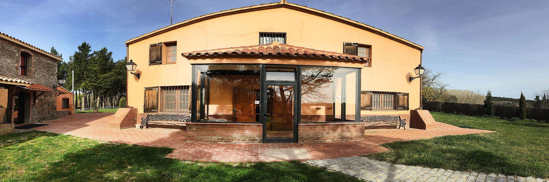Casa Naranja: un espacio donde disfrutar en familia