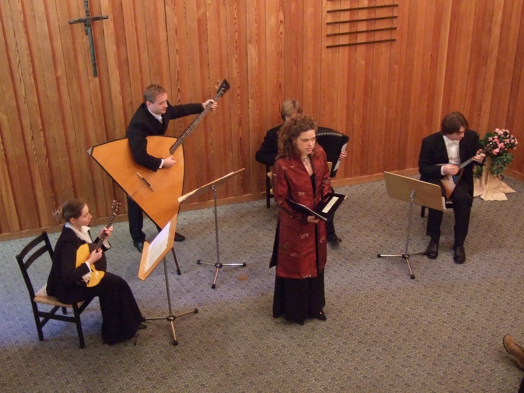 2008  Madelaine Wibom und das russische Quartett s'cherzo