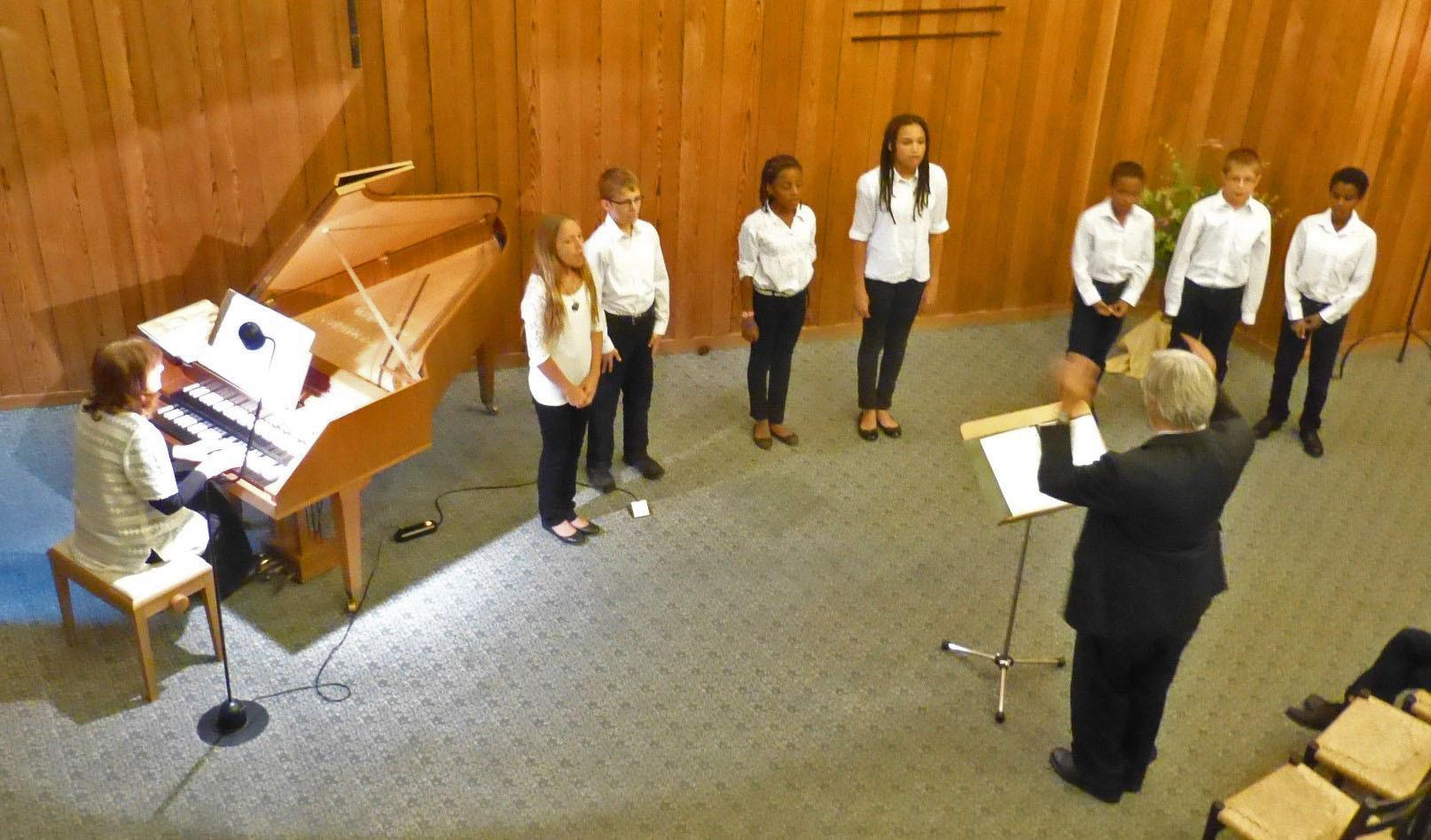 2014  Jugendchor Cappella Argovia,  Leitung Hubert Fuchs