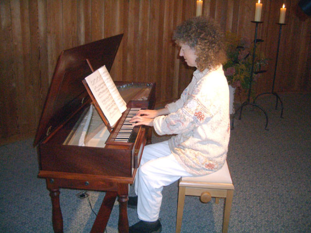 2005  Anita Mamie am Chlavichord