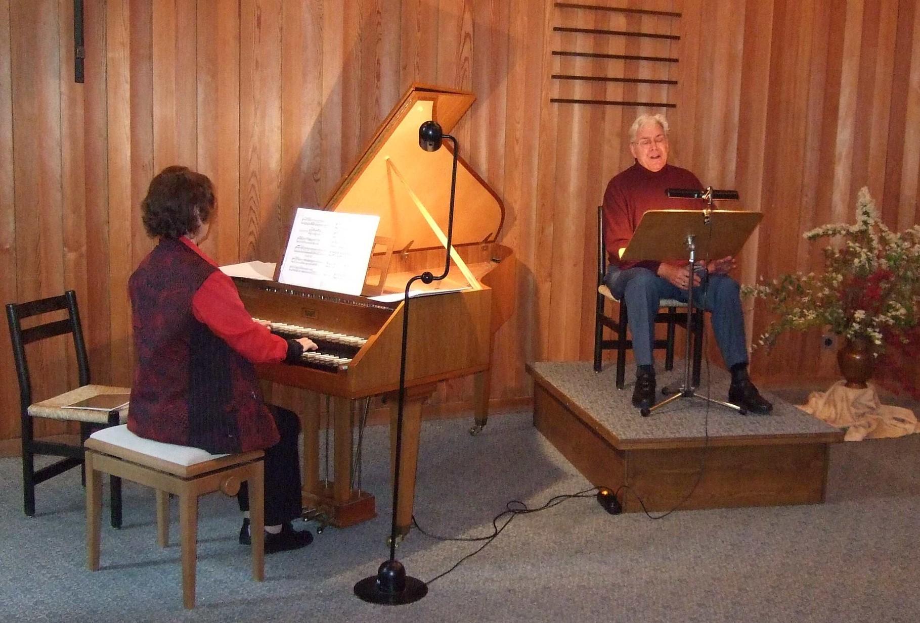 2008  Lesung und Musik, Giuliana Stehli-Altweg und Richard Rutishauser