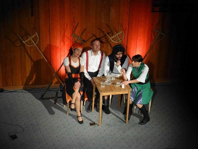 2014  zapzarap, mit ihrem Programm 'Ochsentour'