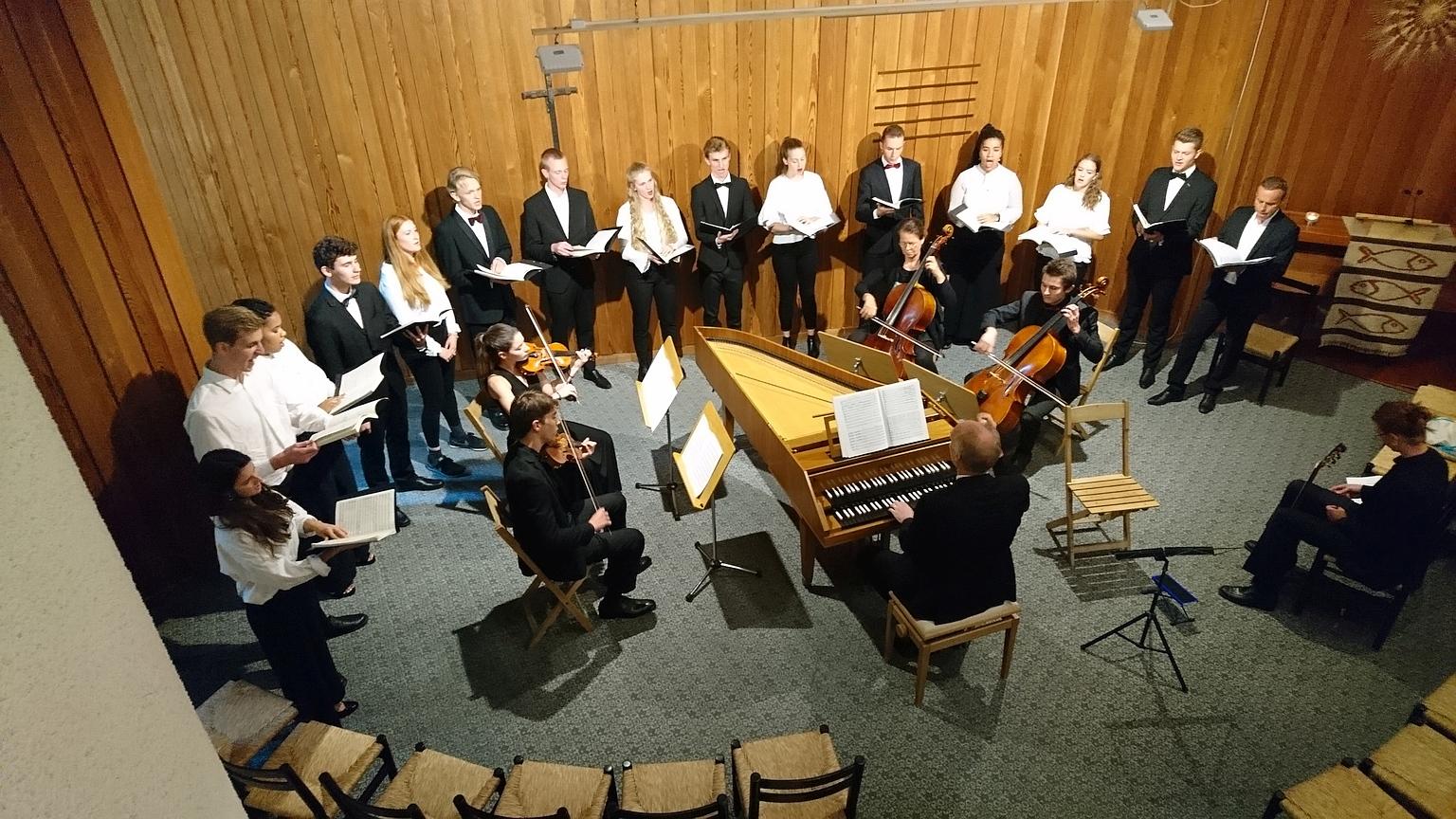 2018 Junges Zelenka-Ensemble Zütich, Leitung Christian Bielefeldt