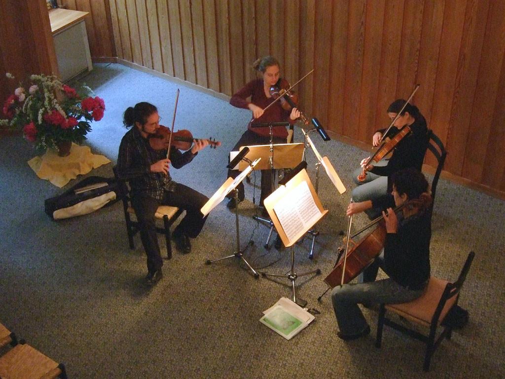 2007  Pausa-Streichquartett (A.Häusler - E.Olsen - K.Hender - Chr. Steiner)