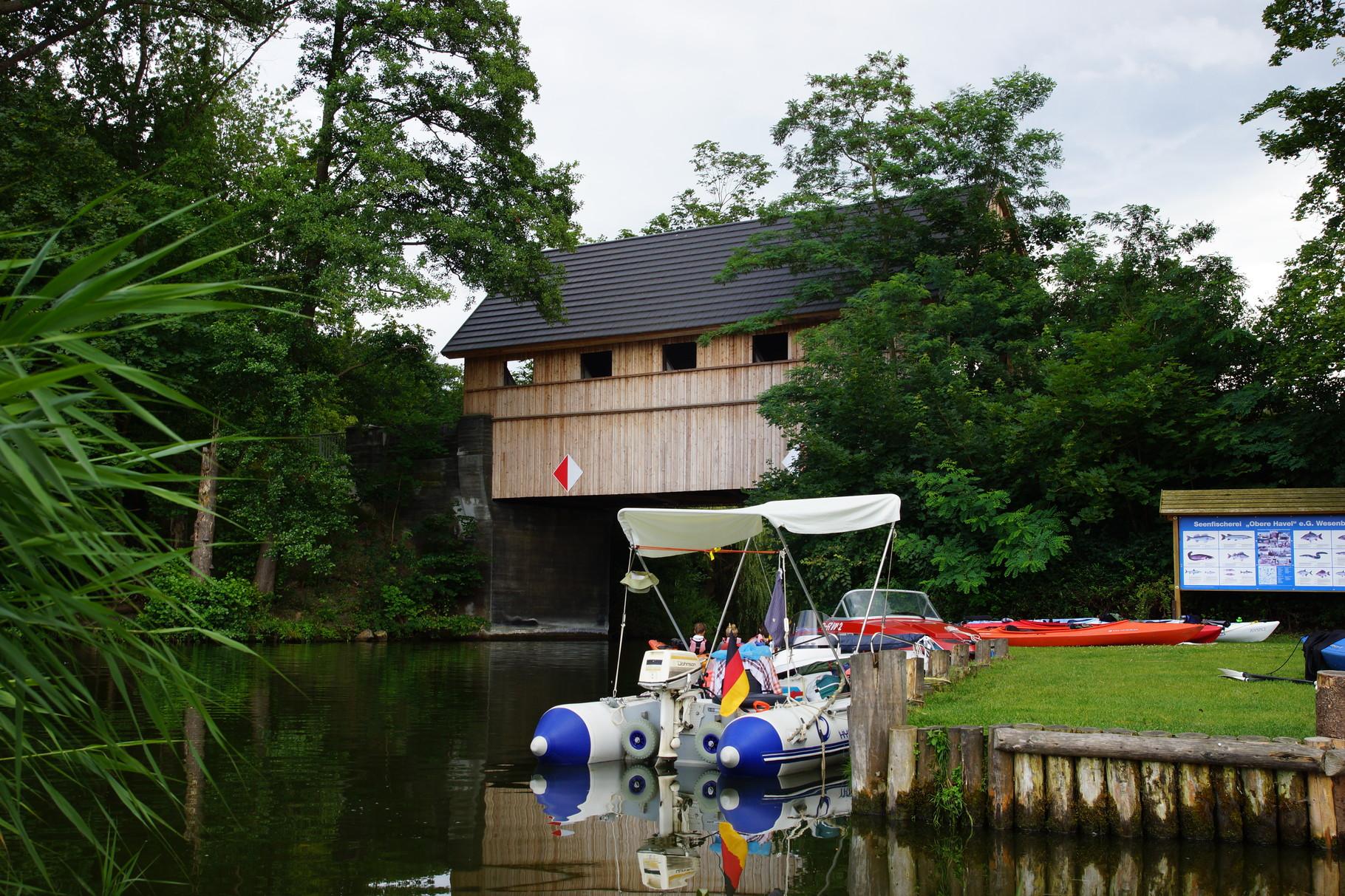 Die Hausbrücke von Ahrensberg