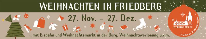 Weihnachtszauber Friedberg