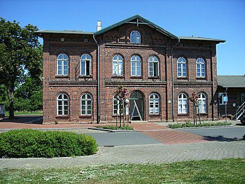Bahnhof von Lunden