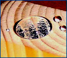 Nanoprotect Holzimprägnierung - Wasserabweisende Imprägnierung mit Fleckenschutz