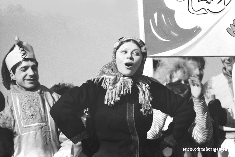 ЛЮДМИЛА РЮМИНА В ОДИНЦОВО. 1987 год.