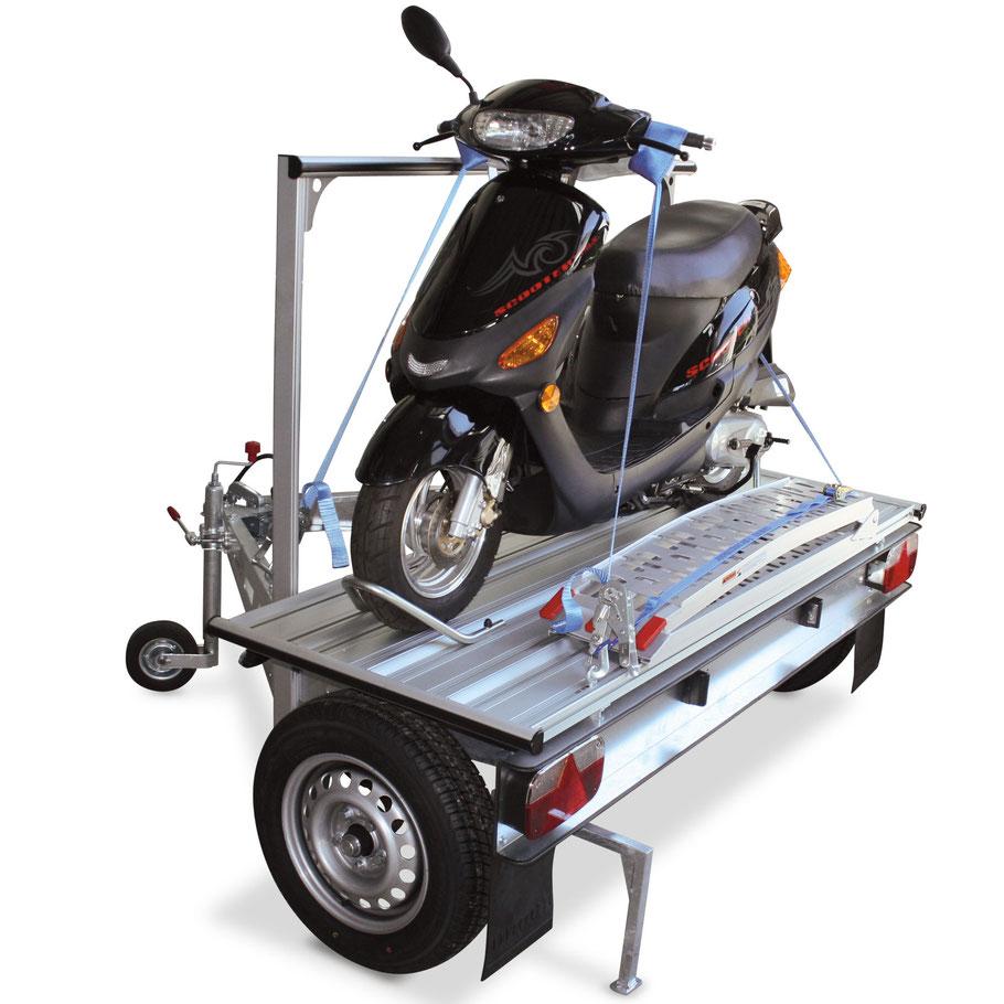 DS 11  Traigo Motorrad / E-Bikes Anhänger