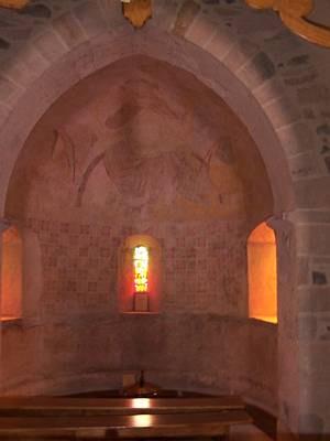 L'abside et son décor