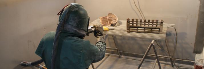 Sandblasting - blast cleaning service - Mentiplay Grit Blasting Dunfermline