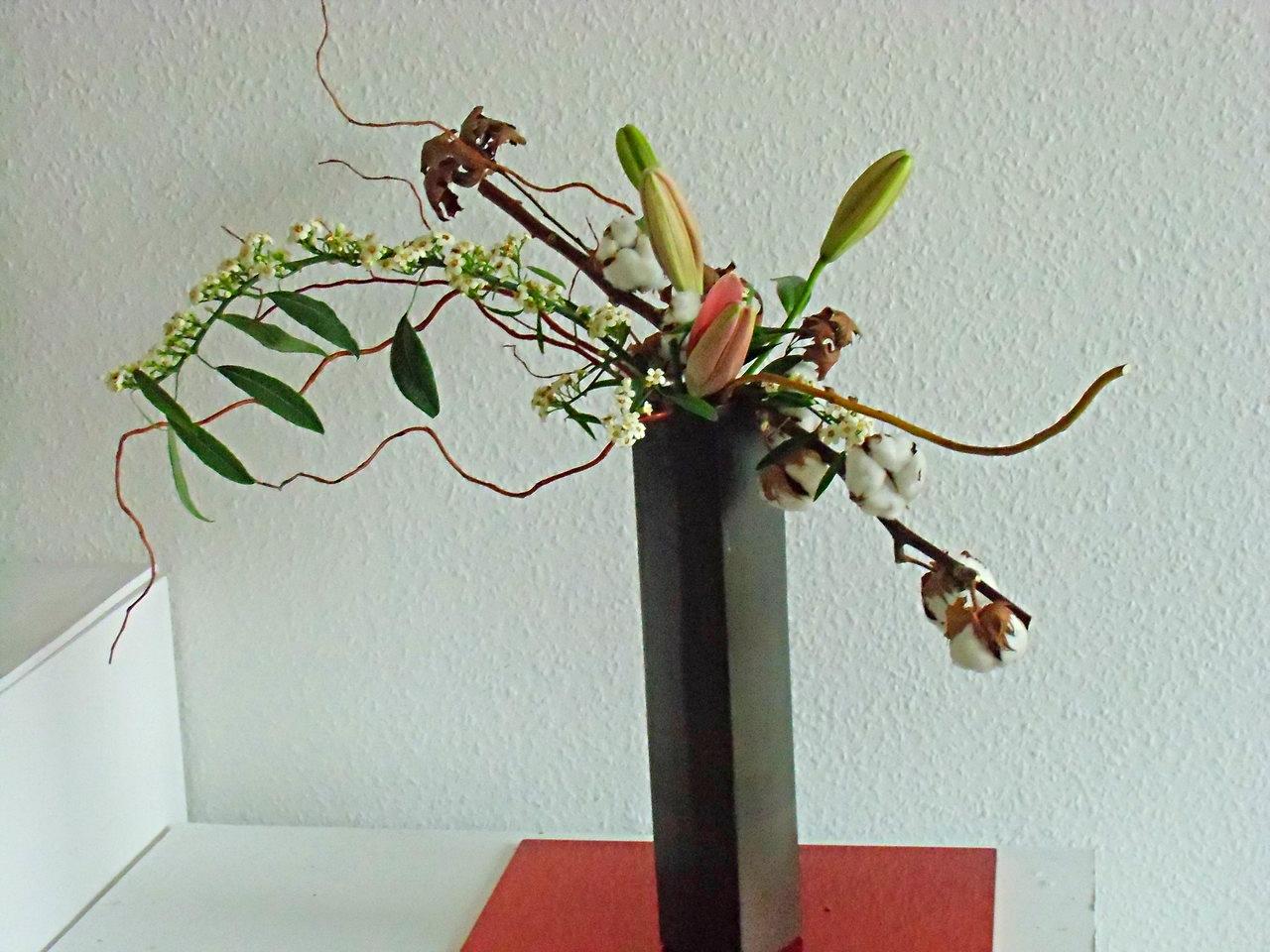 Arbeiten auf dem Vasenrand