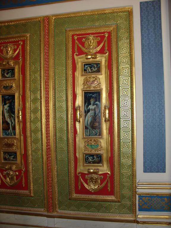 """Musée des Arts décoratifs à Paris """"salon Hope"""" après restauration"""