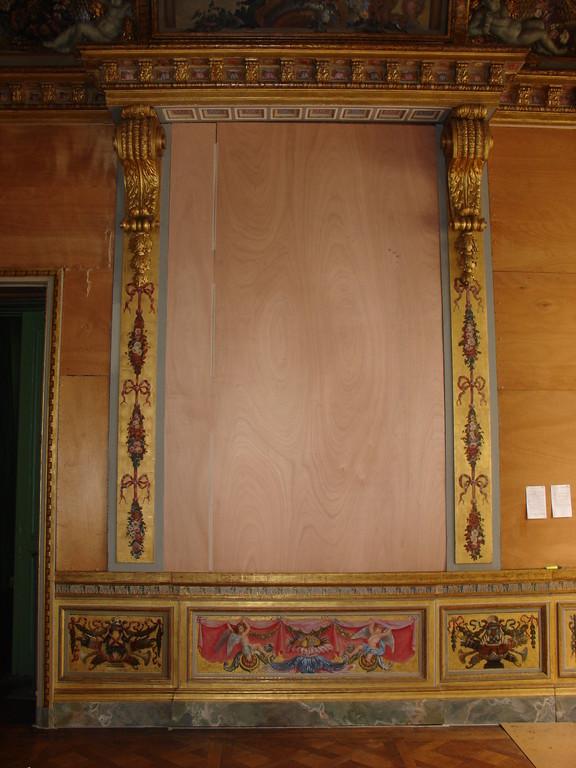 Salon après restauration