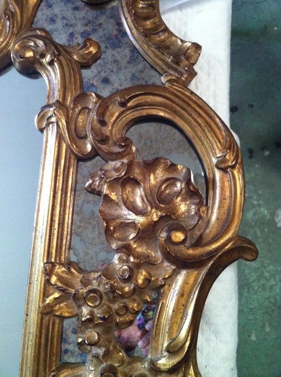 Réintegration du miroir, fin de restauration