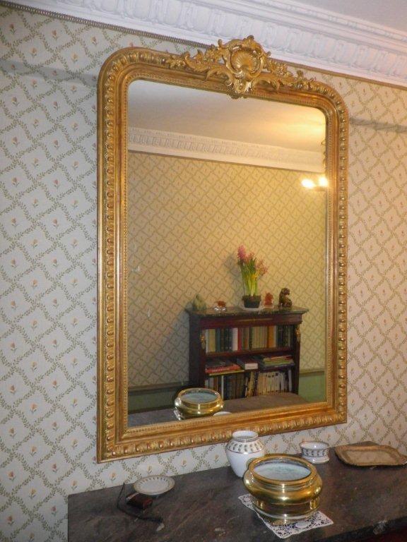 Miroir XIXème restauré