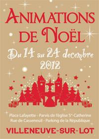 marché de Noël Villeneuve sur Lot
