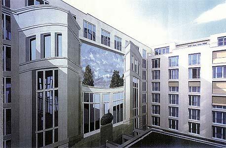 HOTEL STUTTGARTER HOF II,  Anhalter Straße 8-9 Berlin, 2002, Auftraggeber: Relexa Hotelgruppe Dr. E. Marx / A.Steinwarz, Photo: Relexa Hotel
