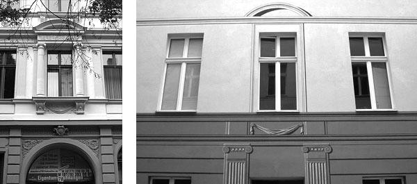MÖCKERNSTRASSE  Möckernstrasse Berlin-Kreuzberg, 2007, Auftraggeber: Joachim Köhler Immoblien,  Photo: Cornelia Beitl