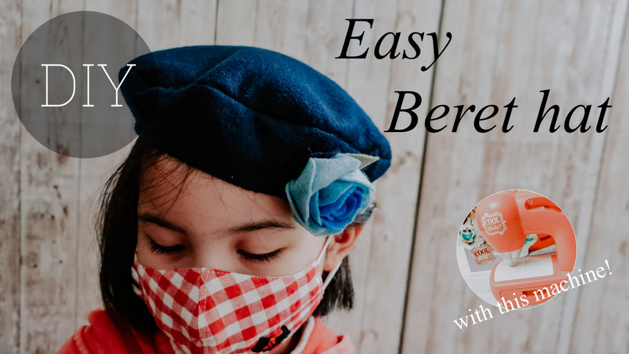 Free Beret Pattern for Kids: Kids' Sewing/Felting Machine Project: