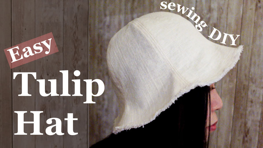 Tulip Hat DIY [Free Pattern Download]