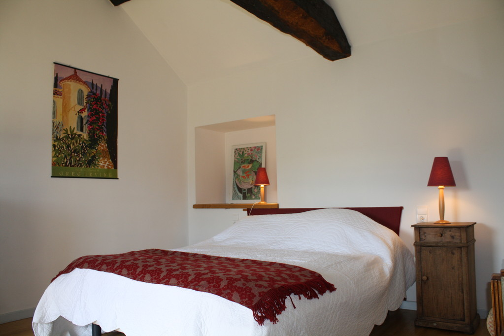 Gite la Borie à Plaisance en Aveyron : chambre familiale