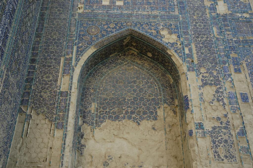Iwan ouest (Shahrisabz, Fin XIII-début XIVème s ap J.C.) (photo : C.Ollagnier, 2008)